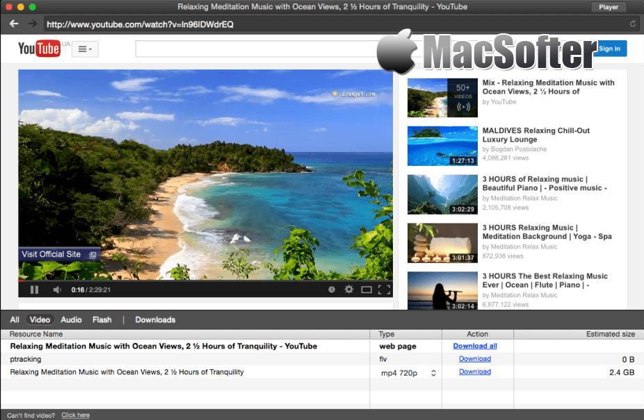 [Mac] Elmedia Player PRO : 在线视频下载和视频播放软件