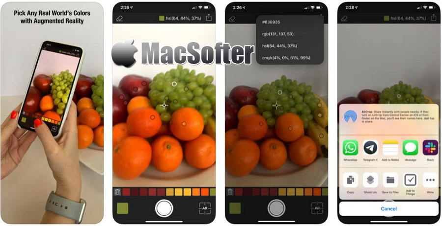 [iPhone] Coloree : 基于现实照片的取色软件