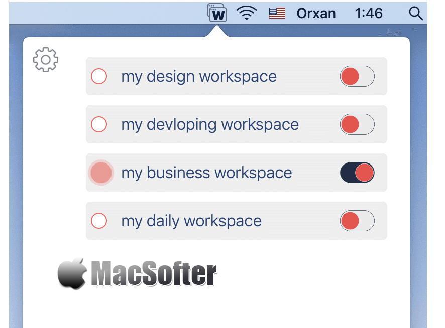 [Mac] WorkspacePro : 一键批量打开和关闭多个软件