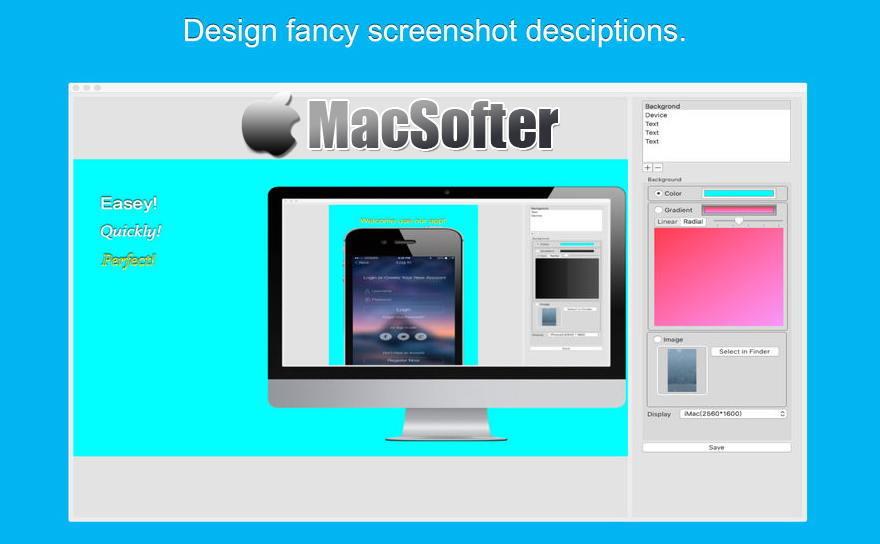 [Mac] App屏幕快照 : APP应用程序带壳截图软件