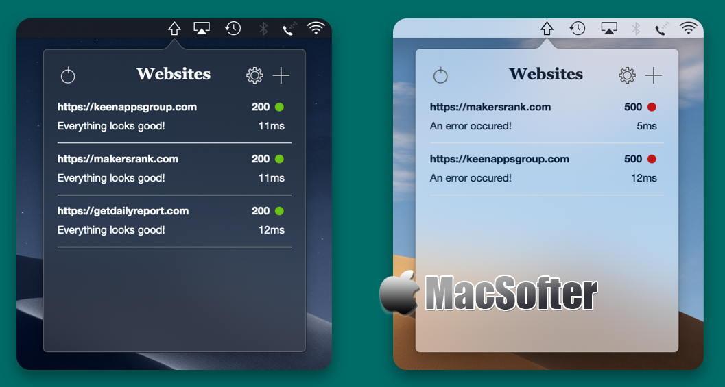[Mac] Web Ping : 方便的网站监控软件