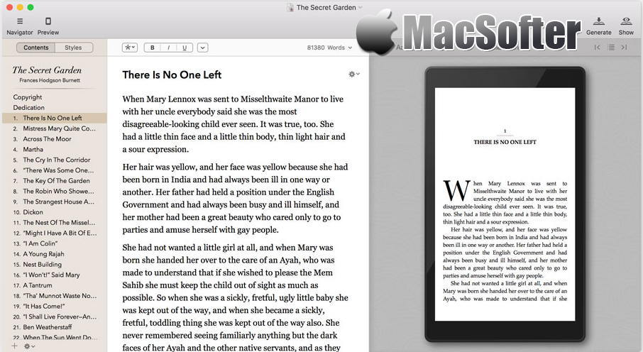 [Mac] Vellum : 专业的电子书制作软件