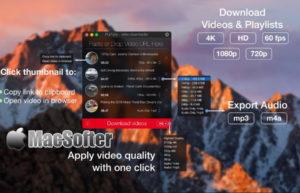 [Mac] PullTube : 网页在线视频下载工具