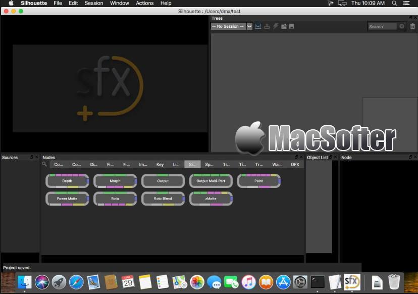 [Mac] SilhouetteFX Silhouette : 专业的影视后期特效软件