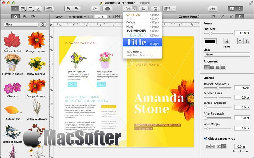 [Mac] Printworks : 功能全面的平面设计软件