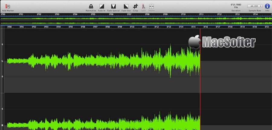 [Mac] Sound Studio : 数字化录音及音频处理软件