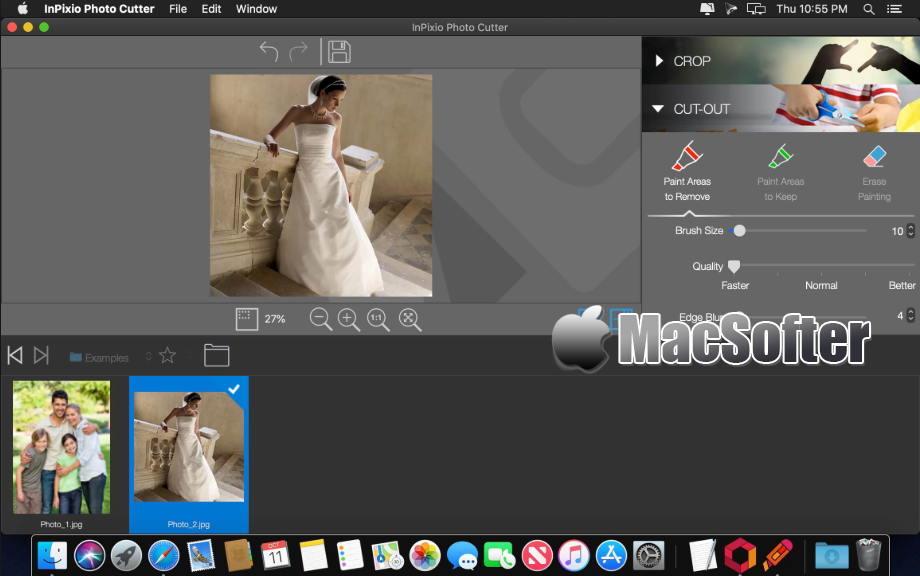 [Mac] InPixio Photo Clip Pro : 强大的照片去背景抠图软件