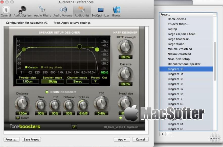 [Mac] Audirvana : 专业的无损音乐播放器 Mac音乐播放 第1张