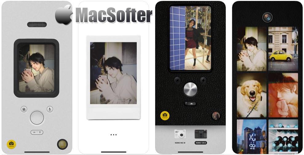 [iPhone限免] NOMO 相机 :极简风格的拍立得相机软件