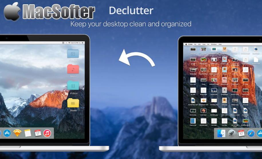 [Mac] Declutter : 自动化桌面文件整理工具