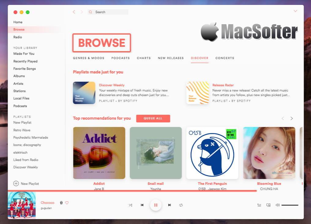 [Mac] Spicetify : 自定义Spotify用户界面的软件