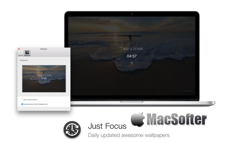 [Mac] Just Focus : 实用的定时休息提醒软件