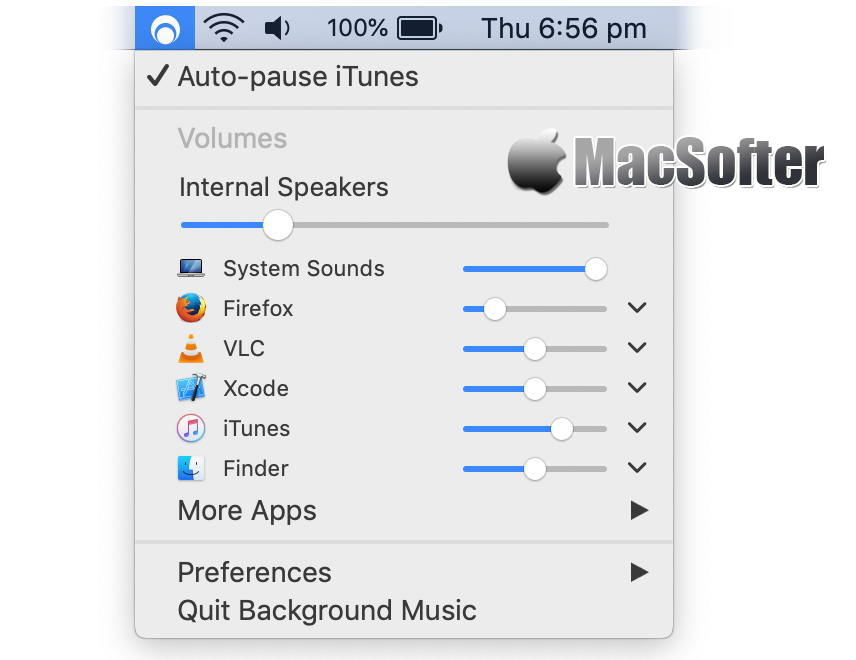 [Mac] Backgronud Music : 增强型音频设置软件