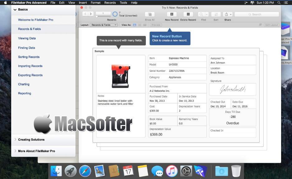 [Mac] FileMaker Pro Advanced : 应用程序开发分析诊断工具