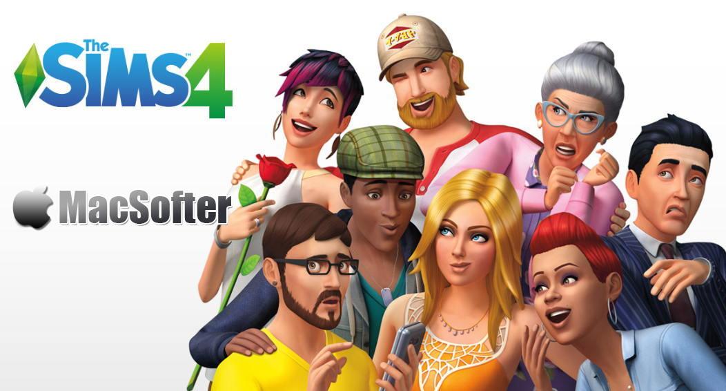 [Mac限免] The Sims 4(模拟人生4) : 模拟经营类游戏