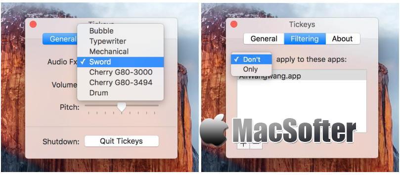 [Mac] Tickeys : 键盘打字声音音效软件