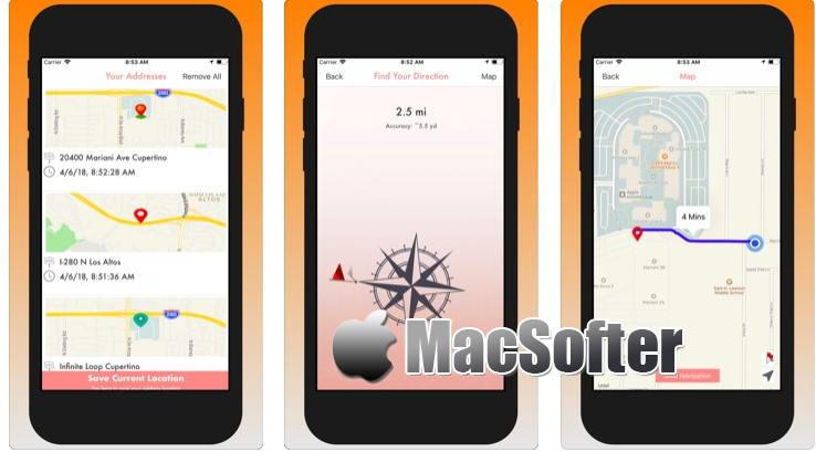 [iPhone/iPad限免] Your GPS Location Finder Pro :  GPS位置记录软件
