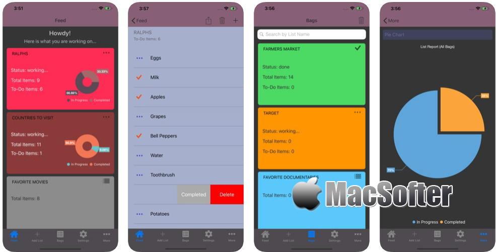 [iPhone/iPad] List Ninja(清单忍者) : 好用的清单软件