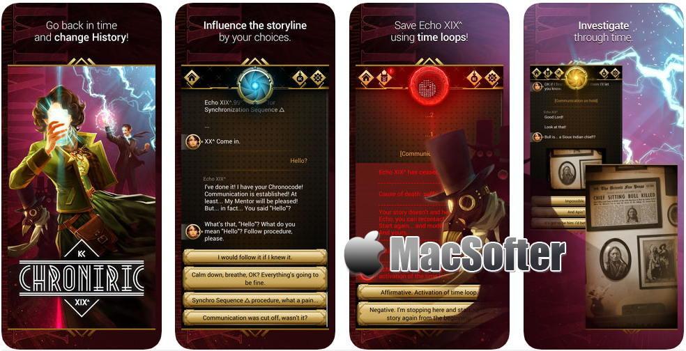 [iPhone/iPad限免] Chroniric XIX : 解谜类冒险游戏