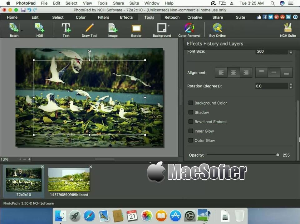 [Mac] NCH PhotoPad Pro : 方便好用的照片编辑处理软件