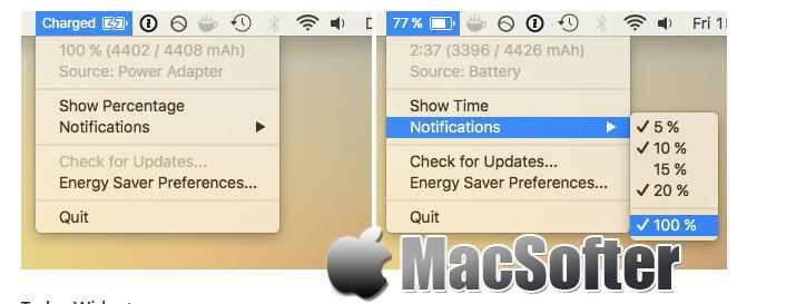 [Mac] Apple Juice : 电池电量检测及提醒软件