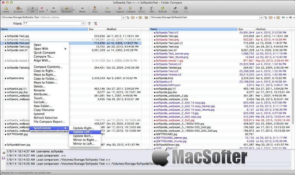 [Mac] Beyond Compare : 强大的文件及文件夹对比工具