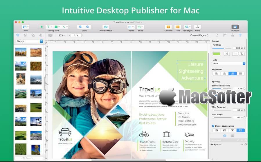 [Mac] Swift Publisher : 专业的版面设计软件