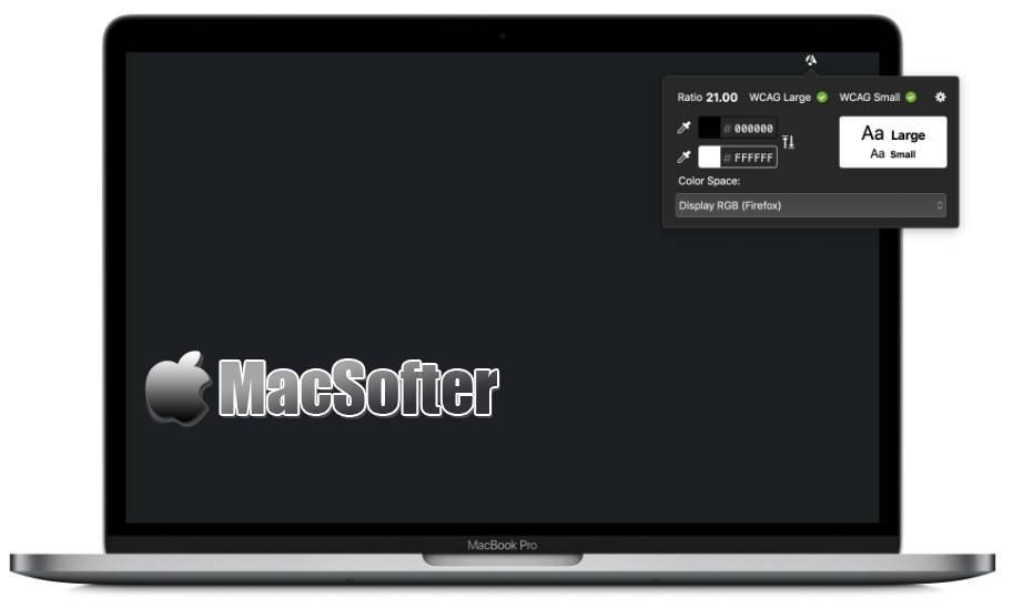 [Mac] Contrast Safe : 无障碍网页设计检查软件