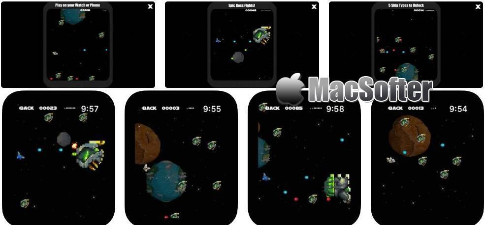 [iPhone] Revenge Space : 太空飞行战斗游戏