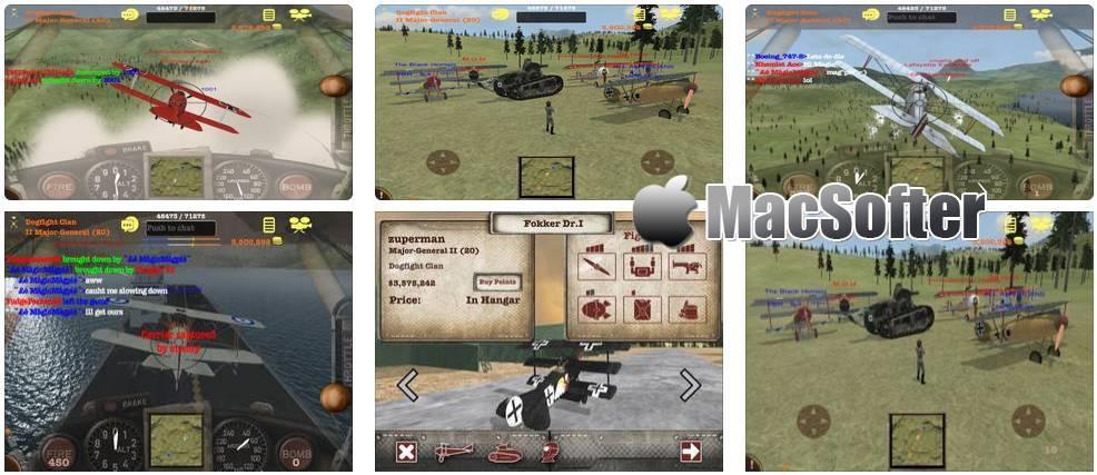[iPhone/iPad] Dogfight Elite : 世界大战飞行战斗游戏