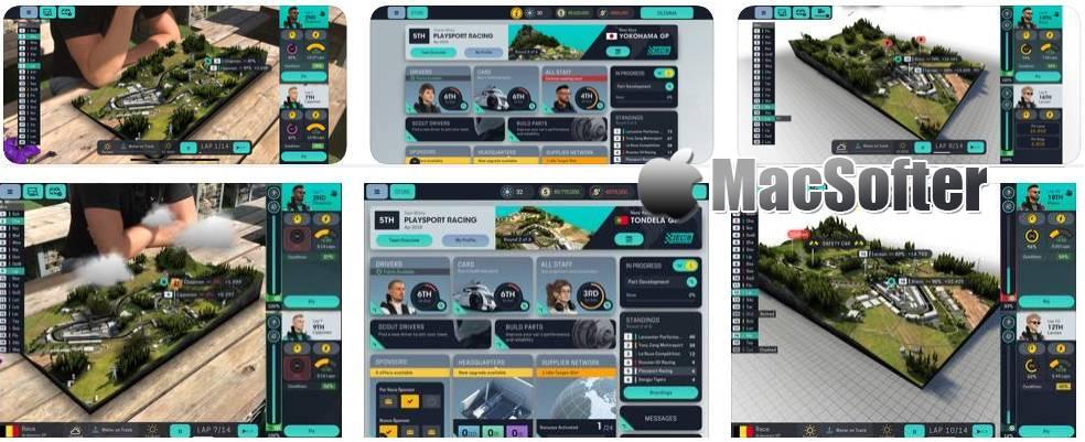 [iPhone/iPad限免] Motorsport Manager Mobile 3 : 模拟经营赛车经理游戏