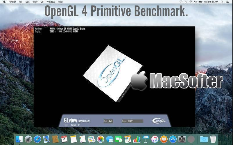 [Mac] OpenGL Extensions Viewer : OpenGL扩展查看器
