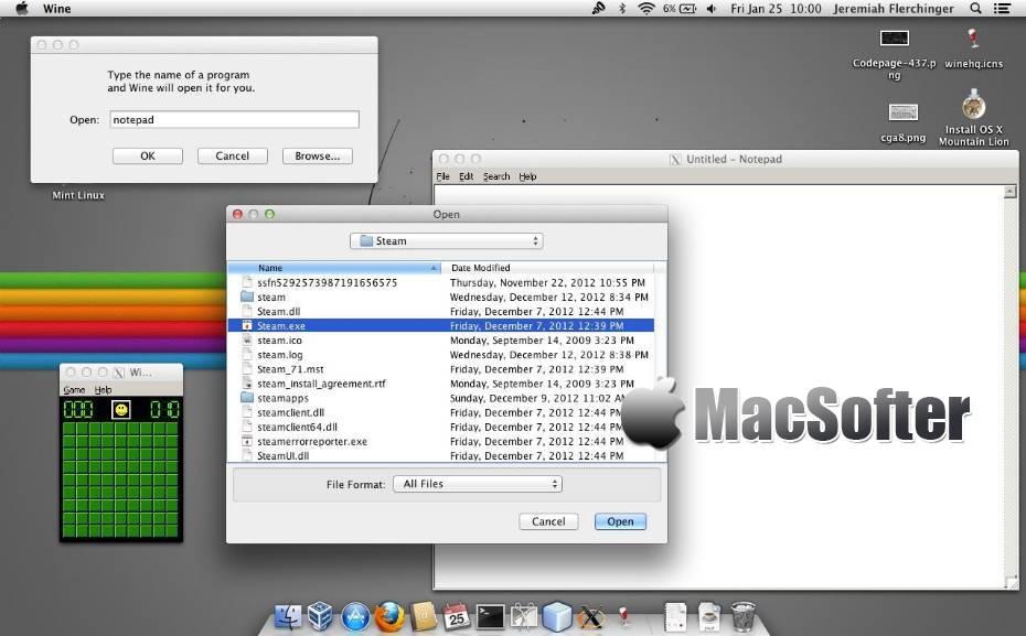 [Mac] Wine : 在Mac上运行Windows软件的工具