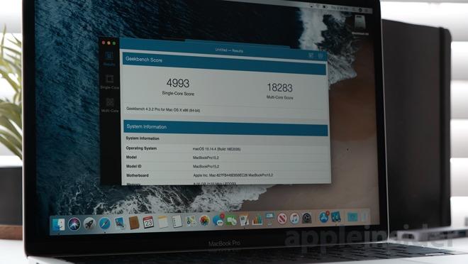 2019款13英寸MacBook Pro性能
