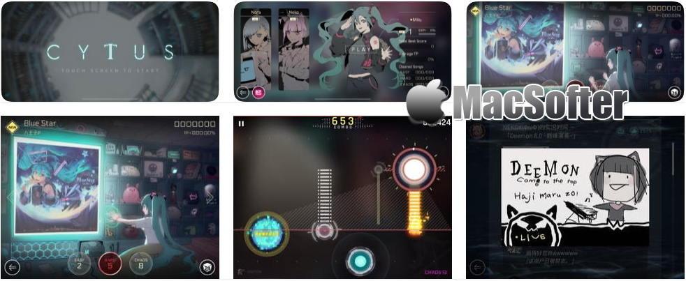 [iPhone/iPad限免]音乐世界Cytus II : 音乐节奏游戏