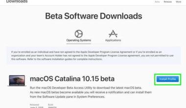 macOS Catalina Beta