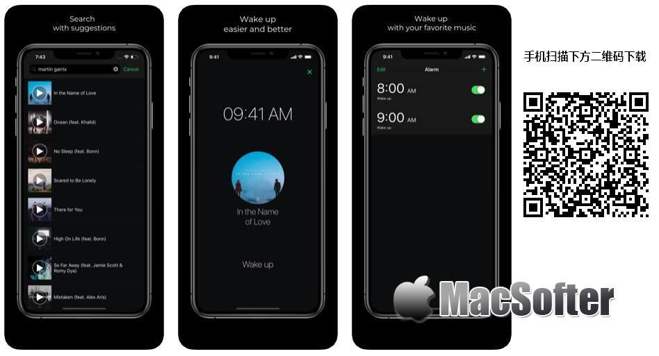 [iPhone/iPad限免] Music Alarm⁺ :用轻柔的音乐叫醒你的闹钟软件