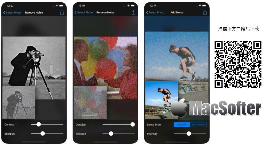 [iPhone限免] Denoise :用于去除照片噪点的去噪软件