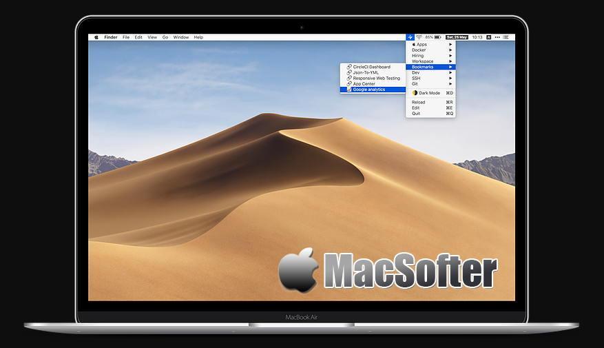 [Mac] SuperBar : 菜单栏的自定义快速操作工具