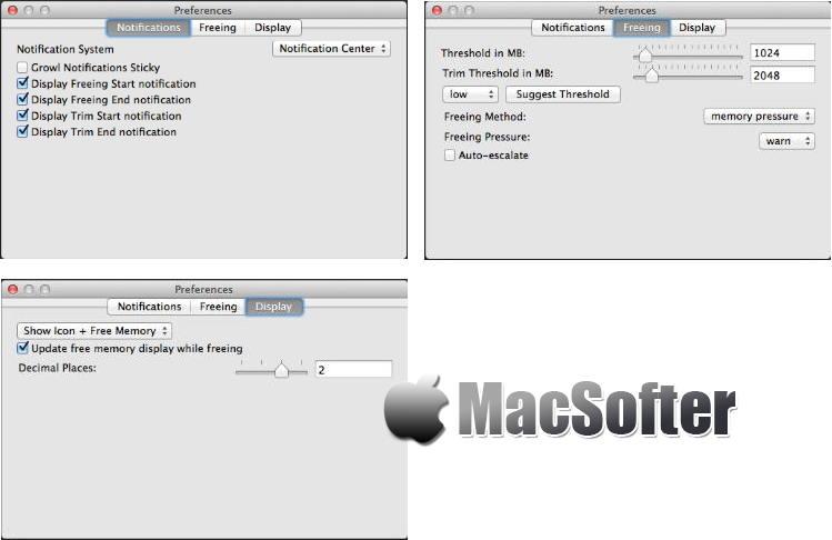 [Mac] MemoryTamer : 实用的内存优化清理工具