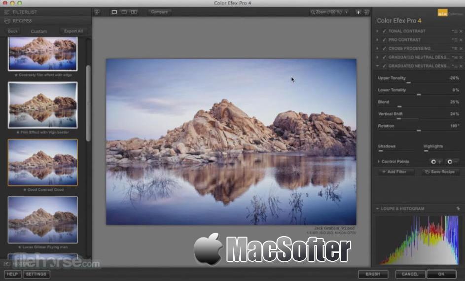 [Mac] Nik Collection : 优秀的PS修图调色插件套装