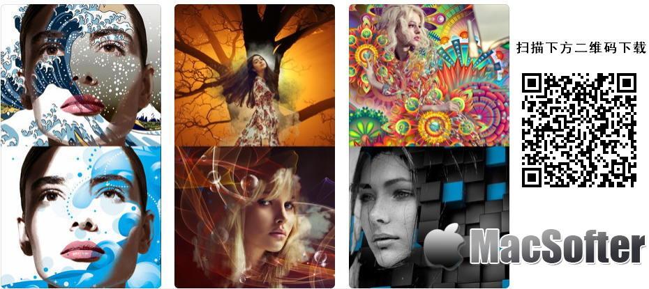 [iPhone/iPad限免] Abstract Me : 抽象画风格的照片特效处理软件
