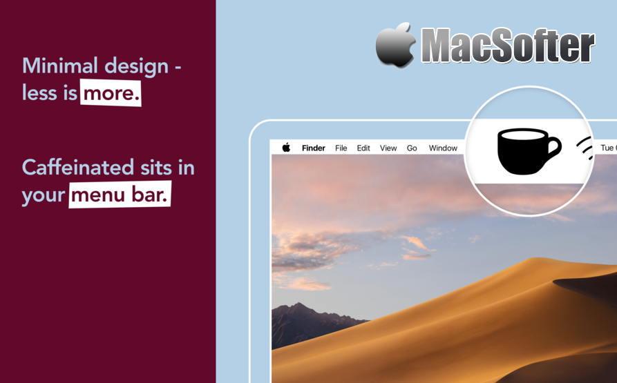 [Mac] Caffeinated : 防止Mac休眠的软件