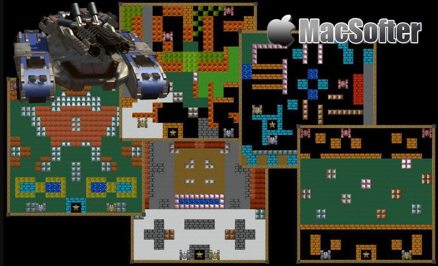[Mac] 无尽坦克大战 : 经典的坦克大战游戏