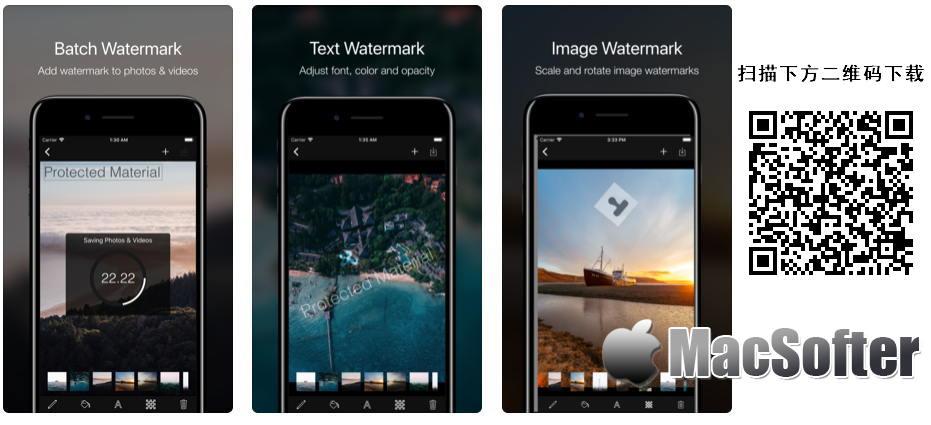 [iPhone/iPad限免] Ray Watermark : 照片及视频水印添加工具