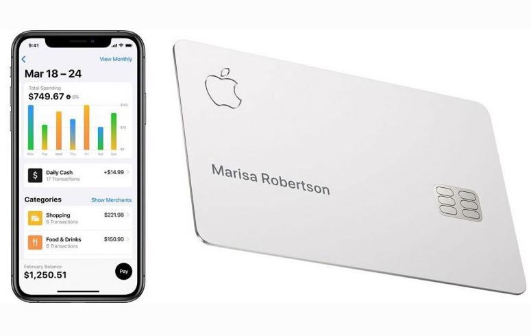 苹果动用数千名员工测试Apple Card信用卡