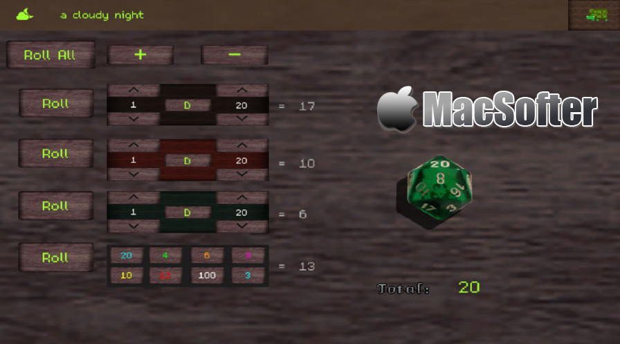 [iPhone/iPad限免] Tartle RPG Tool : 复古的桌游RPG游戏