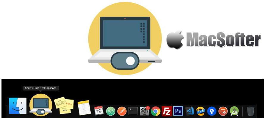 [Mac] Show / Hide Desktop Icons : 一键隐藏和显示桌面图标