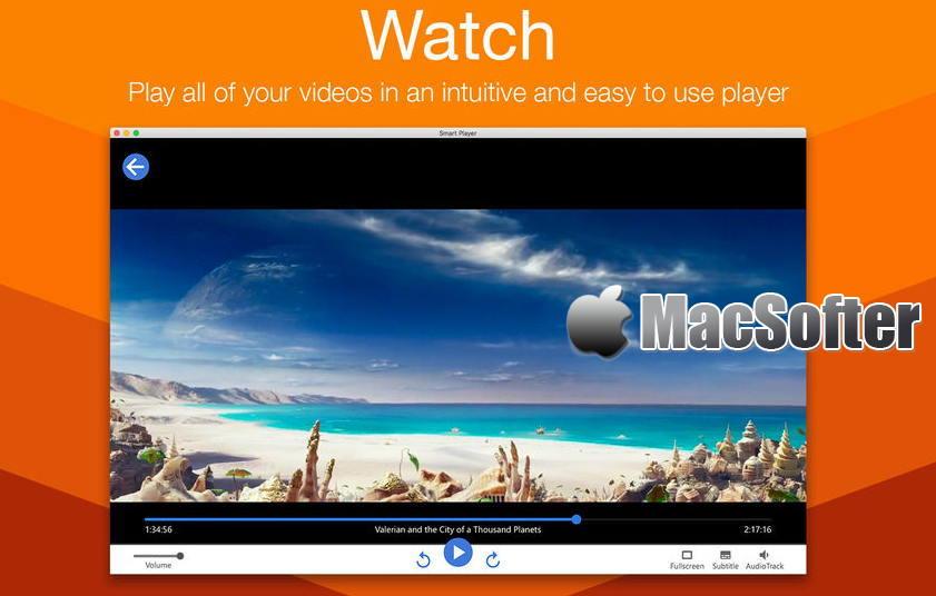 [Mac] Smart Player : 高效的多功能视频播放器