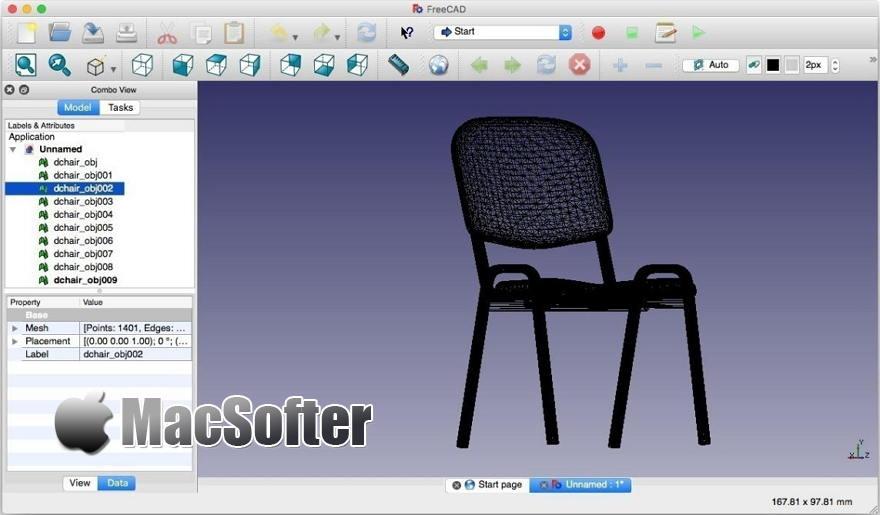 [Mac] FreeCAD : 3D参数化建模软件